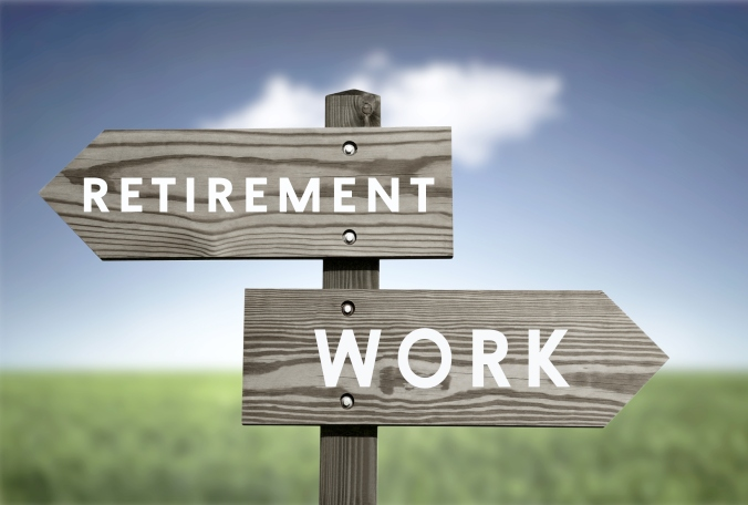 Retirement vs work